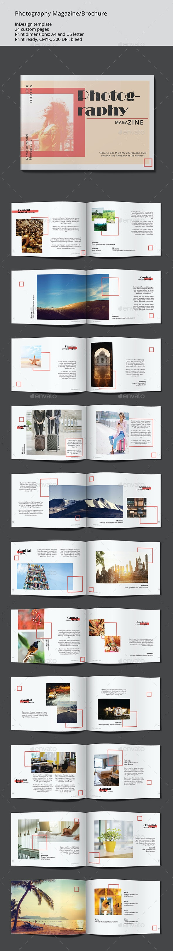 Photography Magazine - Proposals & Invoices Stationery
