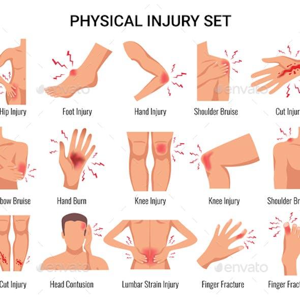 Injury Flat Set