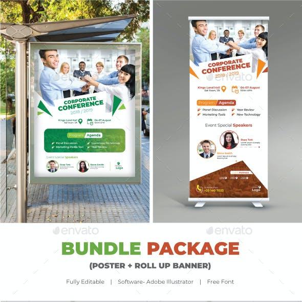 Conference Bundle (Poster+Roll Up Banner)