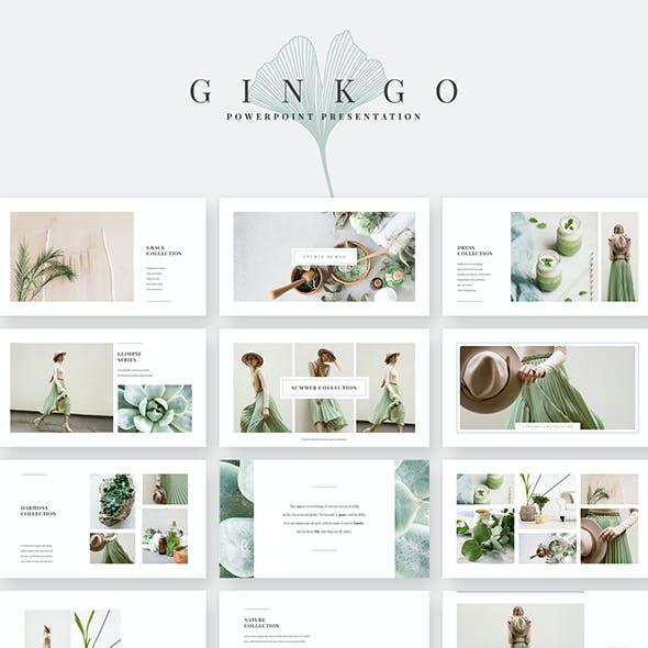 Ginkgo PowerPoint Template