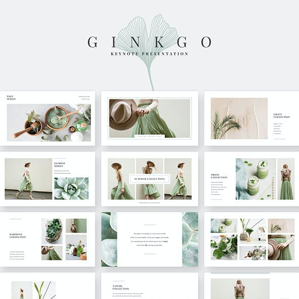 Ginkgo Keynote Template
