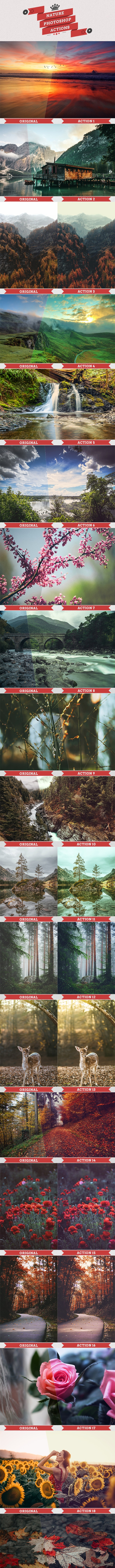 25 Nature Actions - Photo Effects Actions