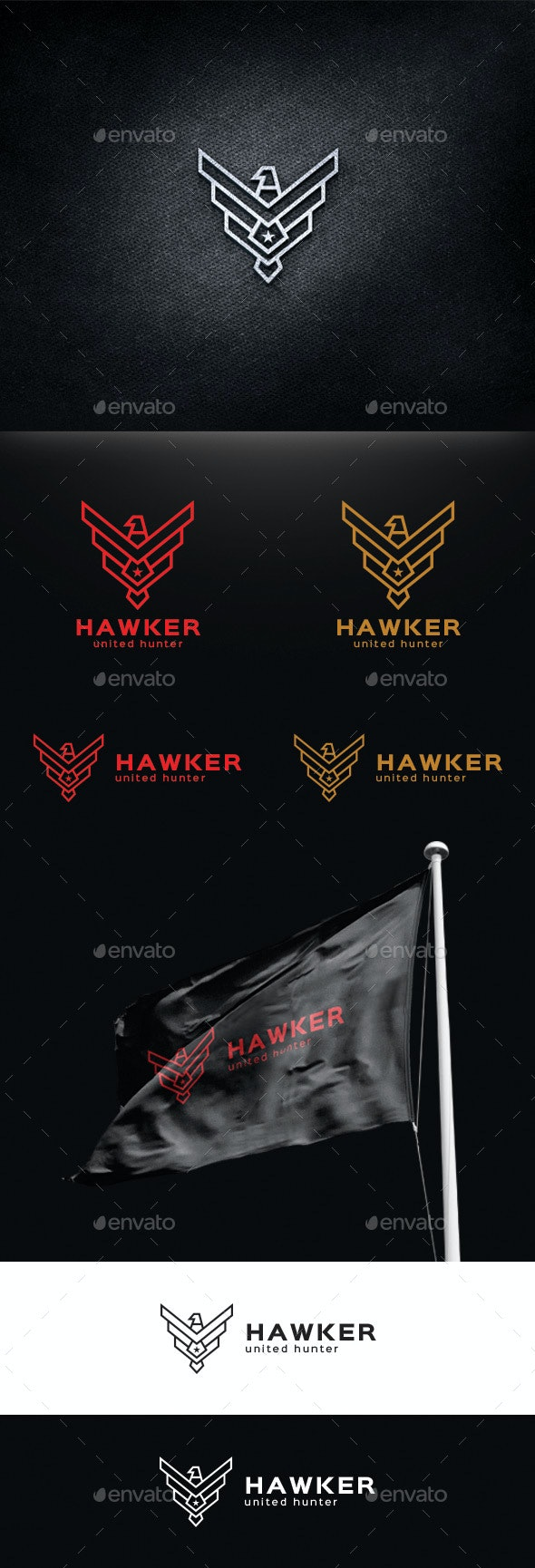 Hawk logo Template - Animals Logo Templates