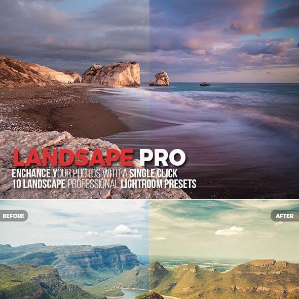 15 Landscape Pro Lightroom Presets