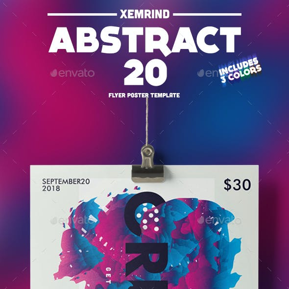 Abstract 20 Flyer/Poster Template