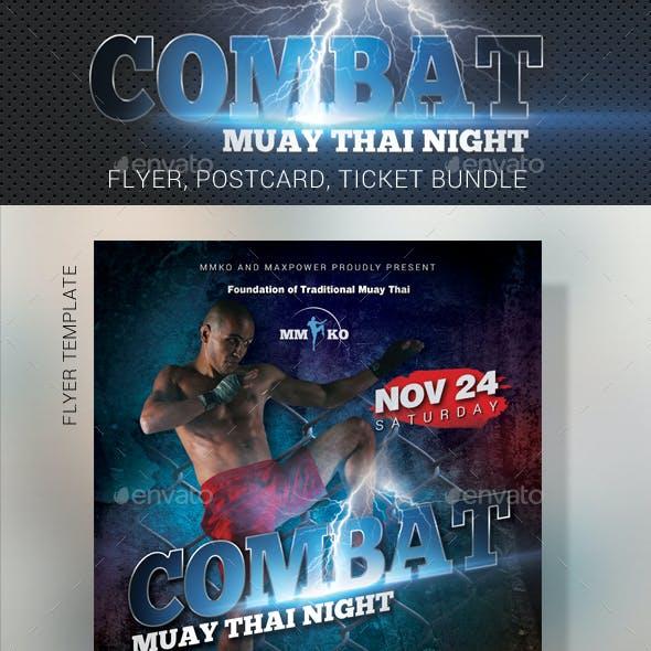 Combat Muay Thai Bundle