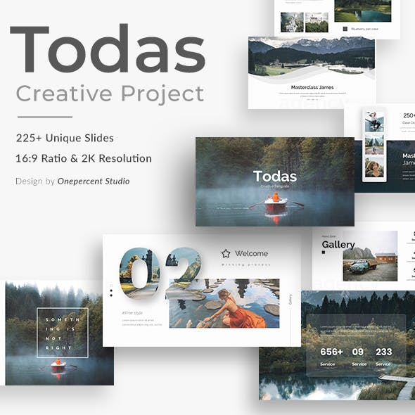 Todas Creative Keynote Template