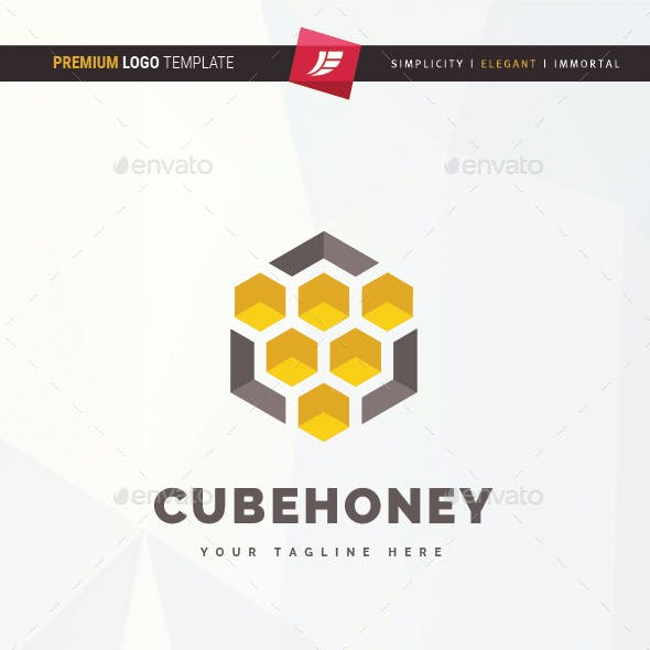 Cube Honey Logo
