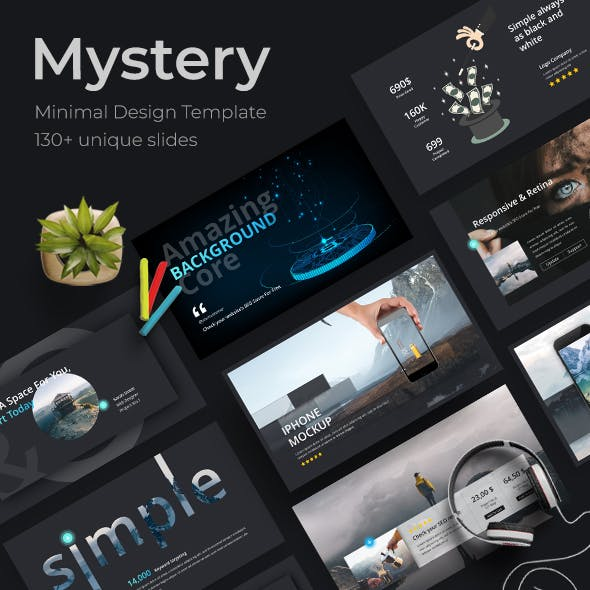 Mystery Creative Powerpoint Template