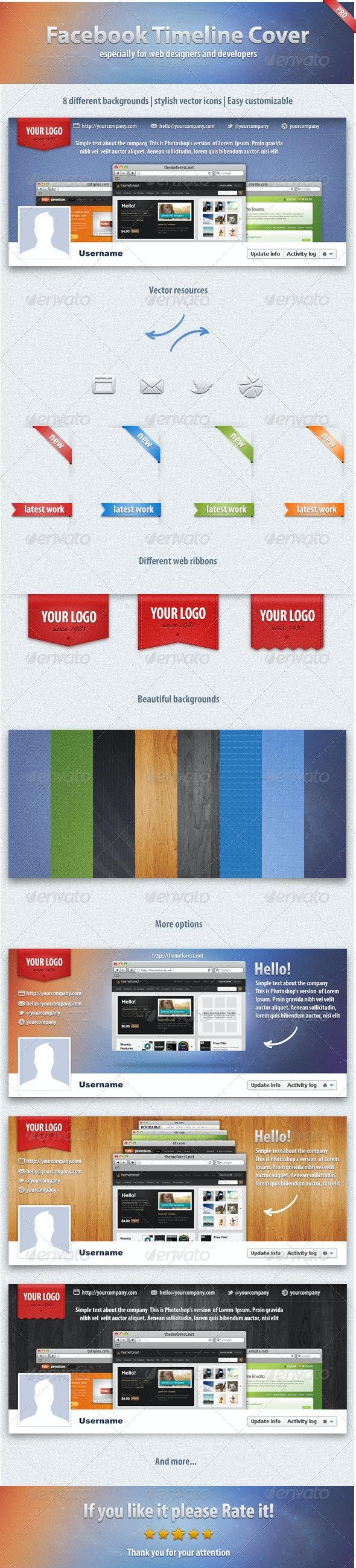 Professional Facebook Timeline Cover - Facebook Timeline Covers Social Media