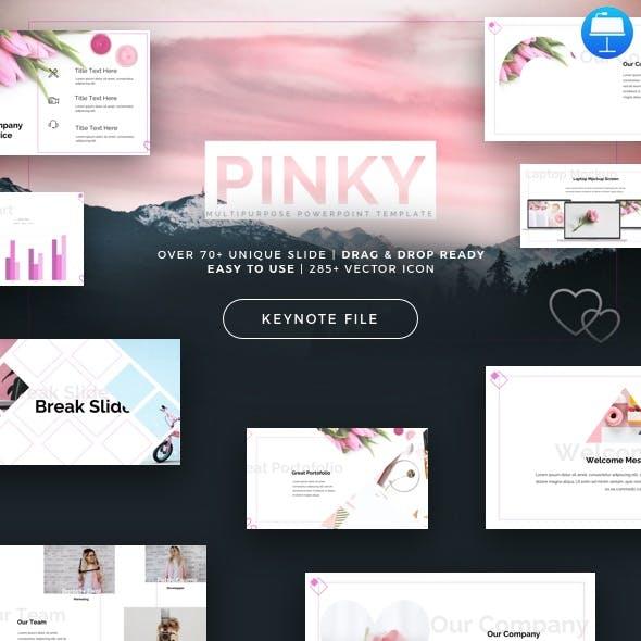 Pinky - Multipurpose Keynote Template