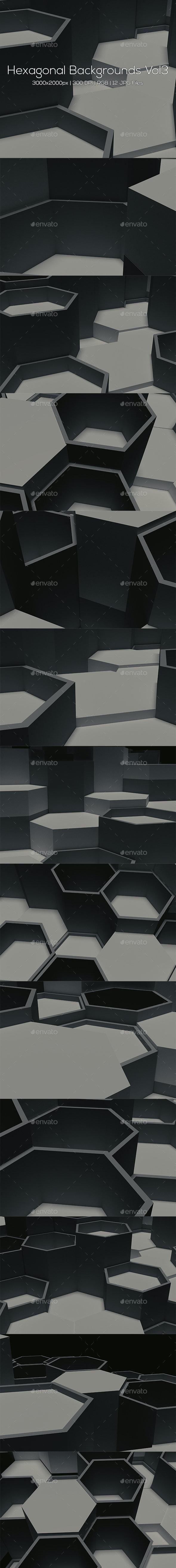 Hexagonal Backgrounds Vol3 - Abstract Backgrounds