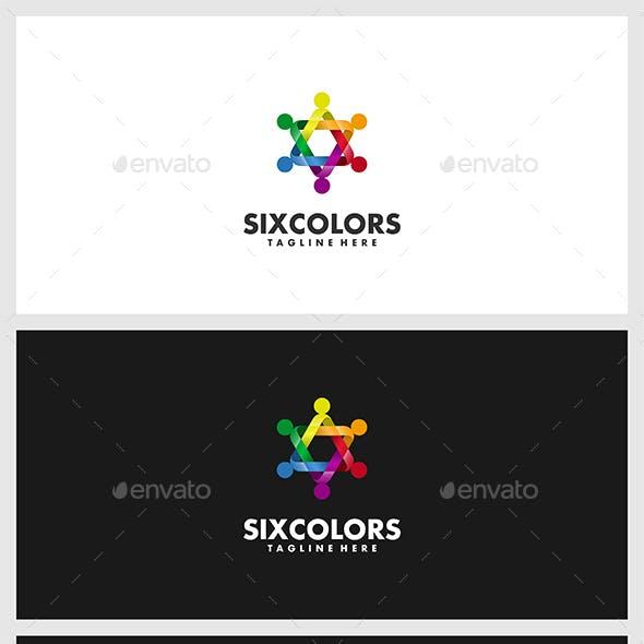 SixColors Logo Template