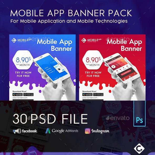 Mobile App Banner Pack