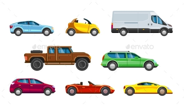 Vehicle Collection - Man-made Objects Objects