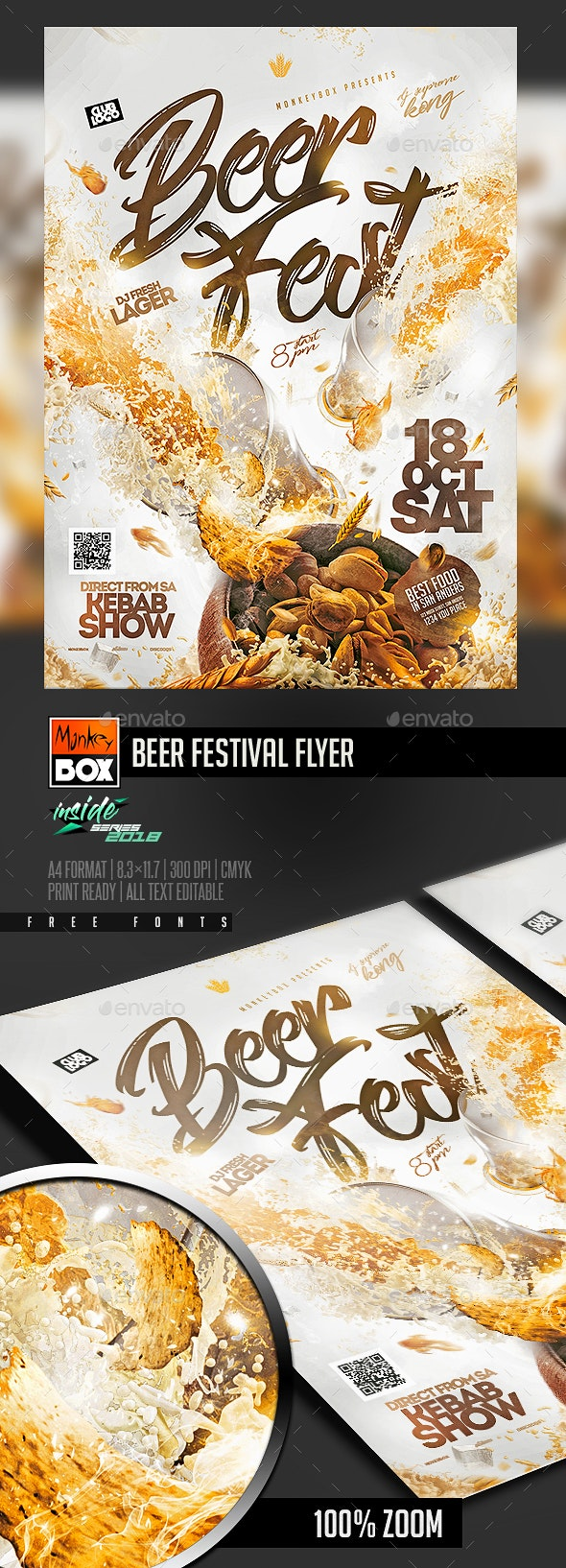 Beer Festival Flyer - Events Flyers