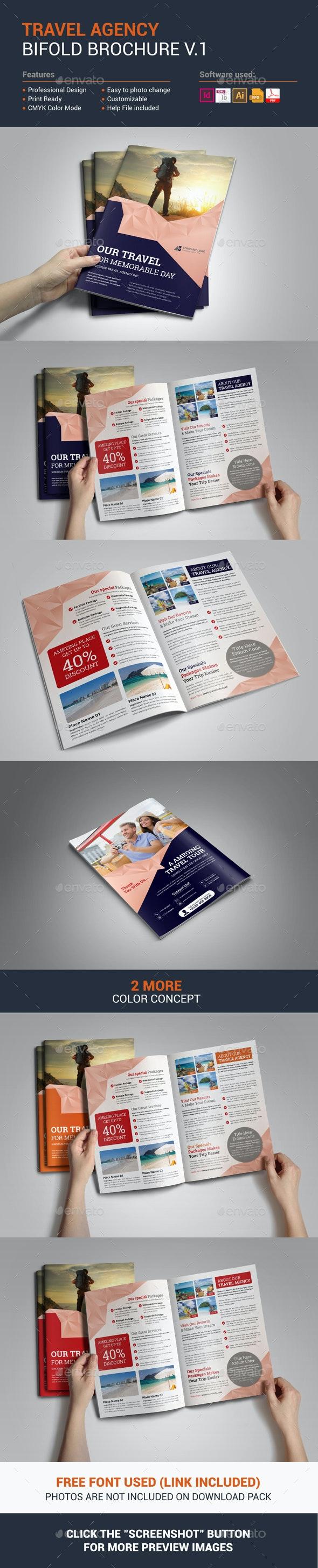 Travel Agency Brochure Design - Corporate Brochures