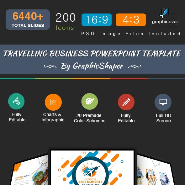 Travelling Business Powerpoint Template