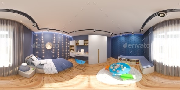 3d Render Spherical 360 Degrees, Seamless Panorama - Architecture 3D Renders