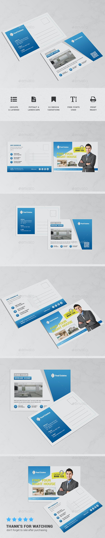 Mutlipurpose Corporate Postcard - Cards & Invites Print Templates