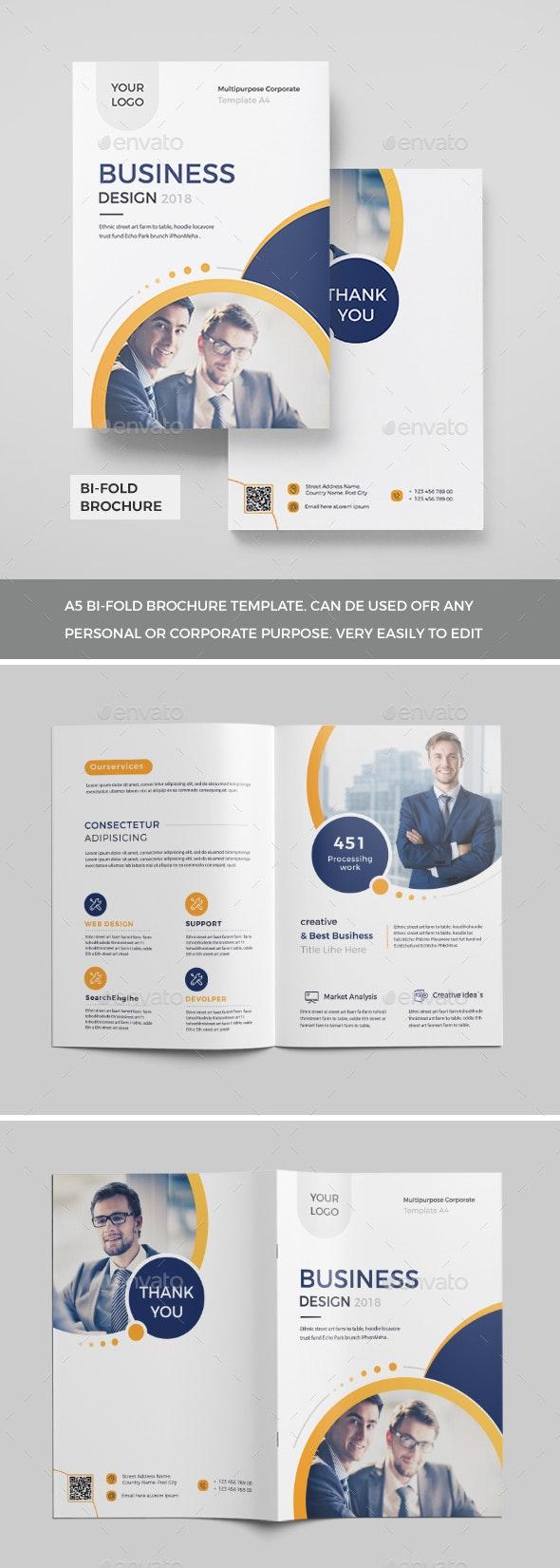 Corporate Bi-Fold Brochure 2018 - Corporate Brochures