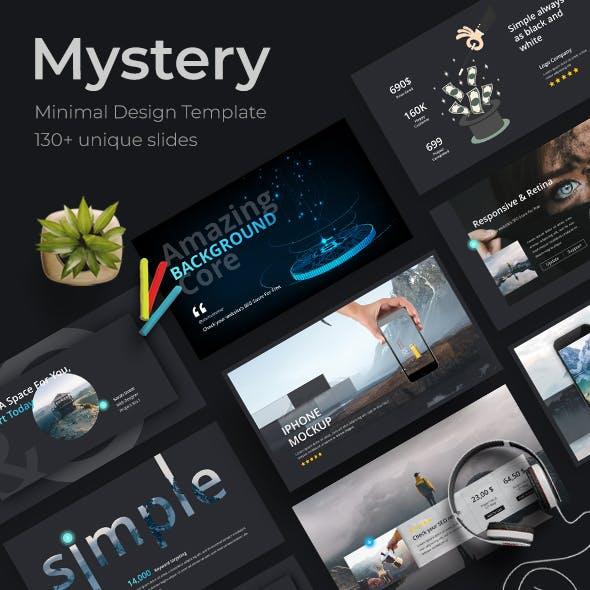 Mystery Creative Keynote Template