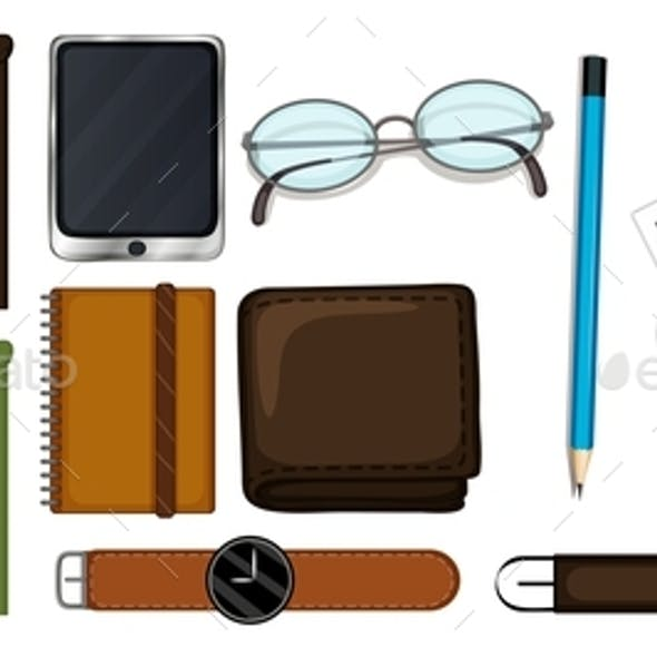 Different Types Of Stationary Set