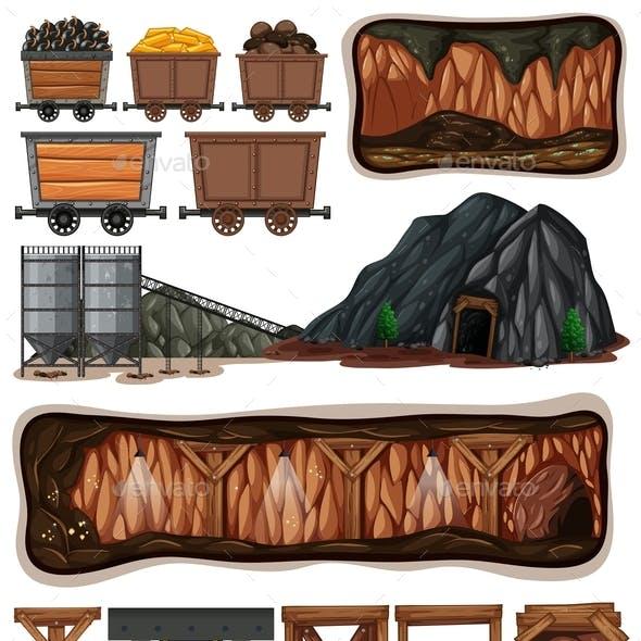 A Set Of Mining Element