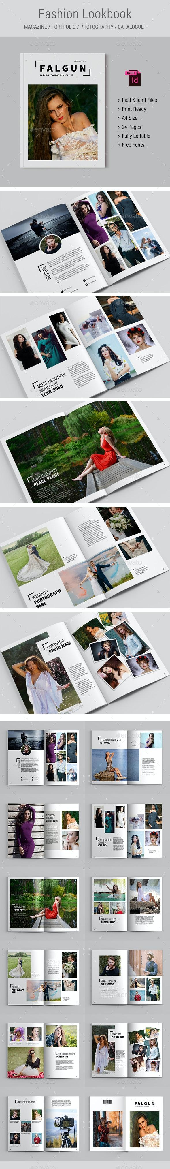 Fashion Lookbook / Magazine - Magazines Print Templates