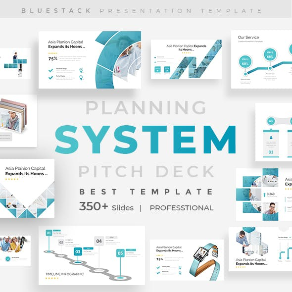 Planning System Pitch Deck Powerpoint Template