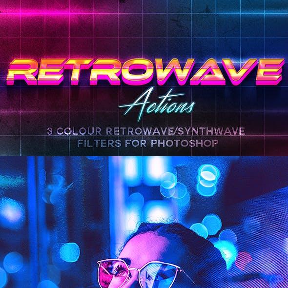 80's Retrowave Action