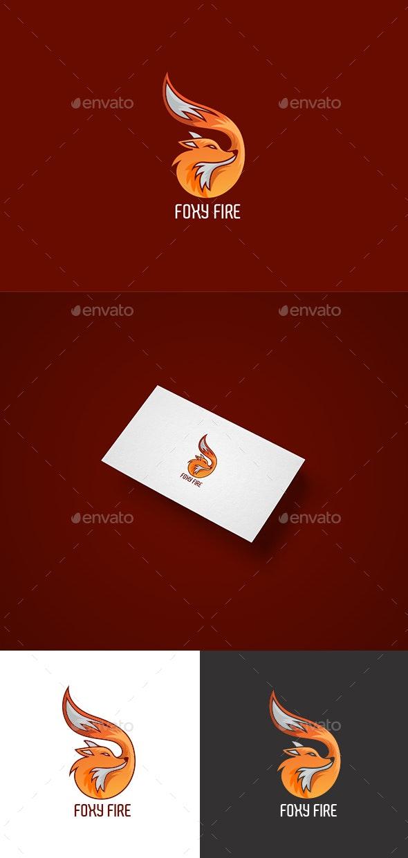 Foxy Fire Logo - Animals Logo Templates