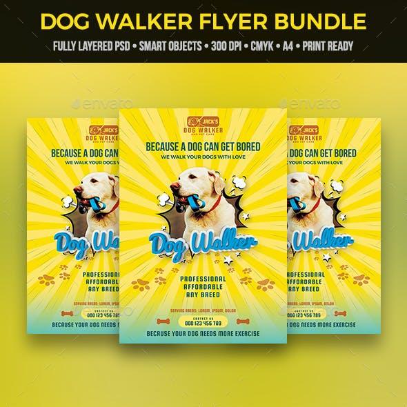 Dog Walker Flyer Bundle