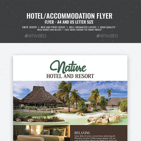 Hotel and Resort Flyer