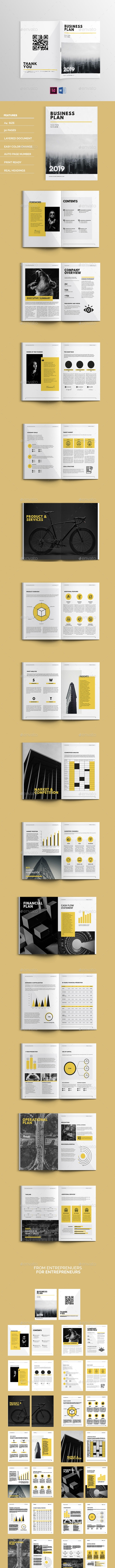 Corporate Business Plan - Proposals & Invoices Stationery