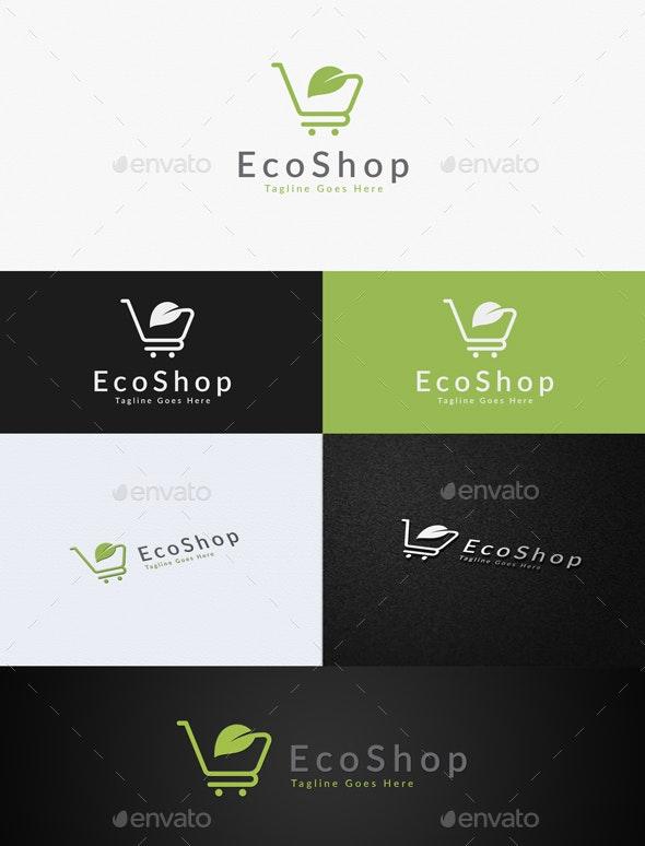Eco Shop - Nature Logo Templates