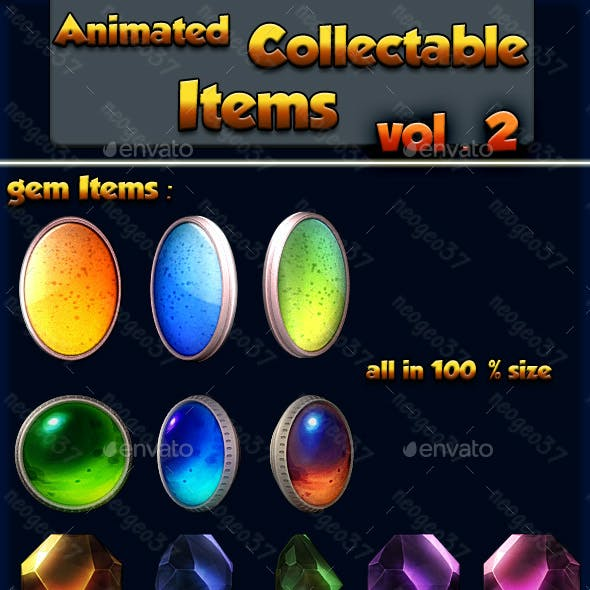 Animated Collectible Items Vol 2