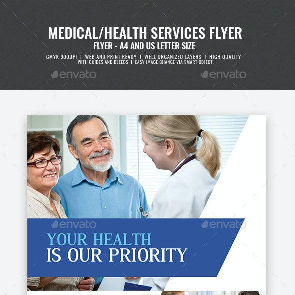 Medical and Health Care Clinic Flyer