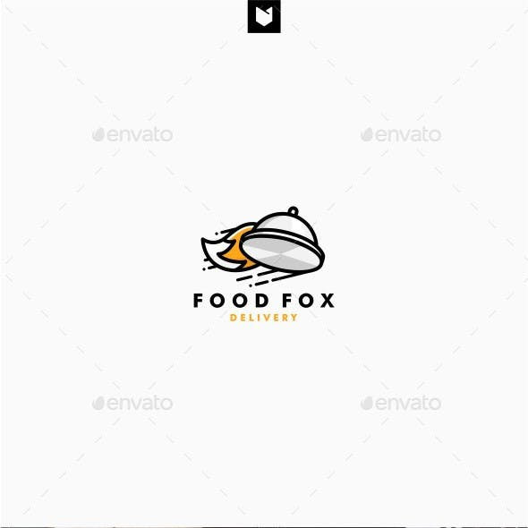 Food Fox Delivery Logo