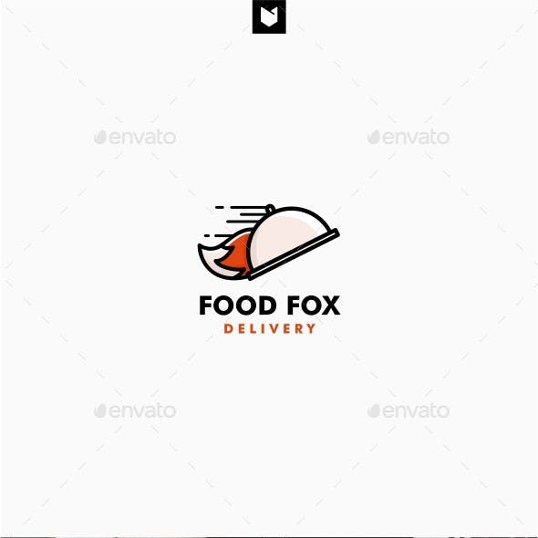 Fox Food Delivery Logo