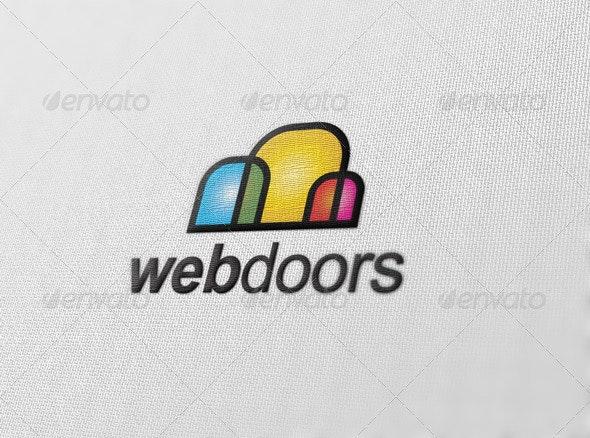Web Doors - Vector Abstract