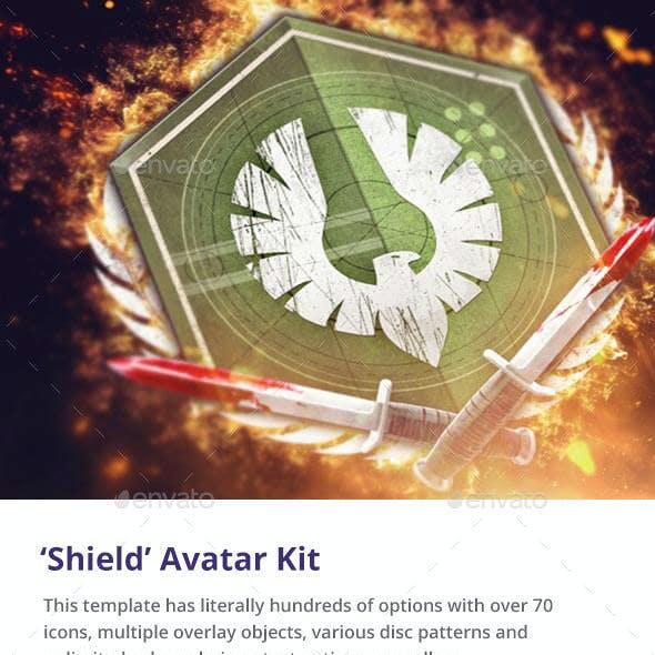 'Shield' Gaming Avatar Kit