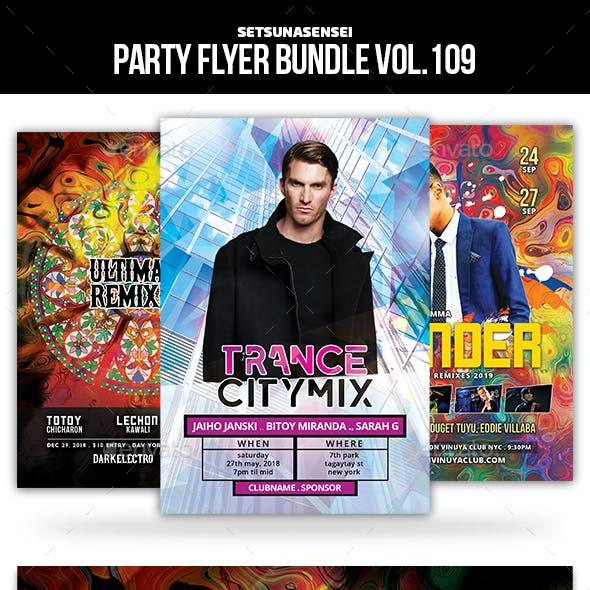 Party Flyer Bundle Vol.109