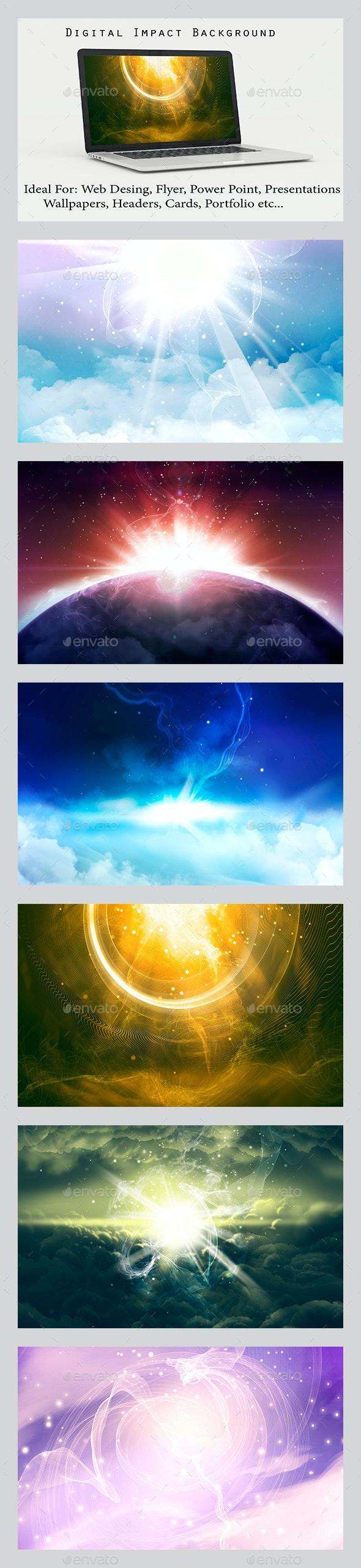 Digital Impact - Backgrounds Graphics