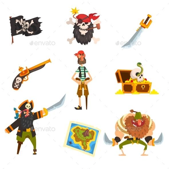 Pirates Set - Miscellaneous Vectors