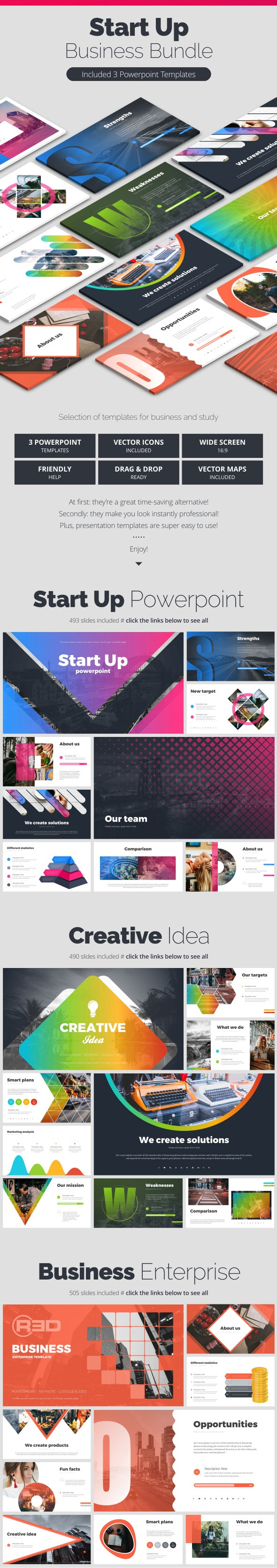 StartUp Bundle - Business PowerPoint Templates