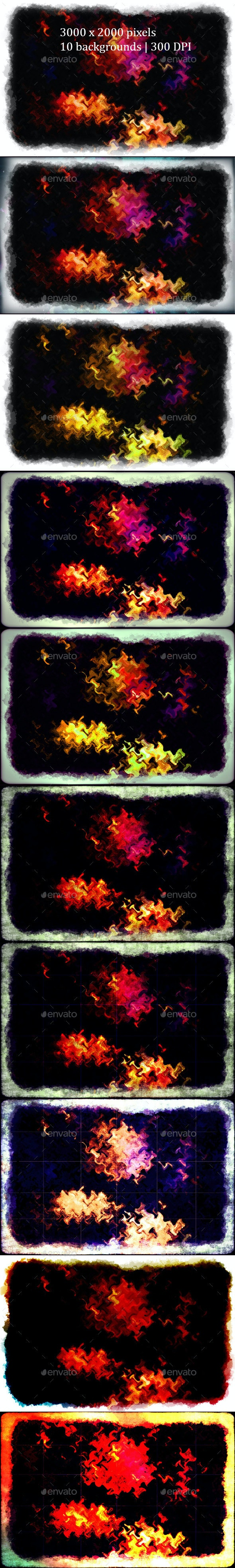Grunge Abstract Backgrounds - Abstract Backgrounds