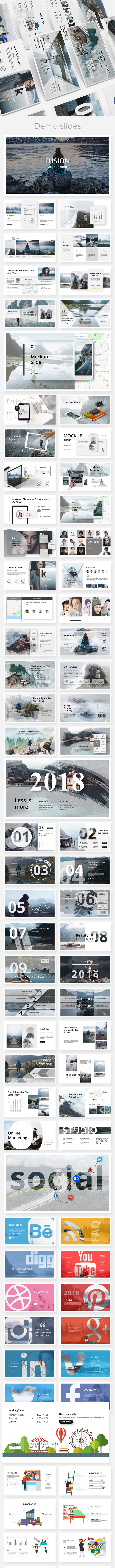Fusion Creative Powerpoint Template - Creative PowerPoint Templates