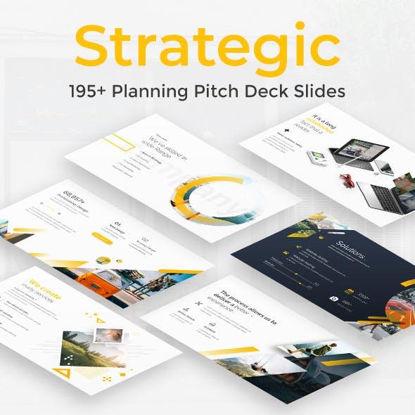 Strategic Planning Pitch Deck Powerpoint Template