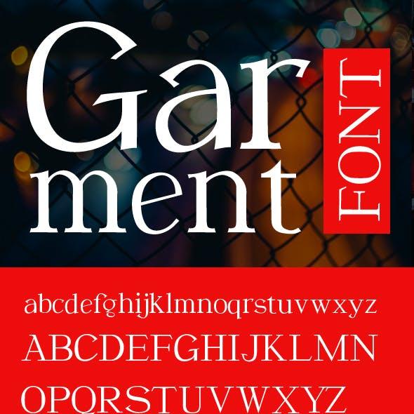 Garment New Serif